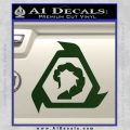Command And Conquer NOD Decal Sticker Dark Green Vinyl 120x120