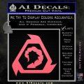 Command And Conquer NOD Decal Sticker Pink Emblem 120x120