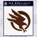 Command and Conquer GDI Decal Sticker BROWN Vinyl 120x120
