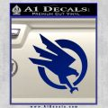 Command and Conquer GDI Decal Sticker Blue Vinyl 120x120