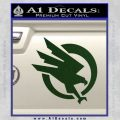 Command and Conquer GDI Decal Sticker Dark Green Vinyl 120x120