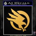 Command and Conquer GDI Decal Sticker Gold Vinyl 120x120