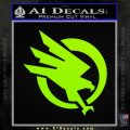 Command and Conquer GDI Decal Sticker Lime Green Vinyl 120x120