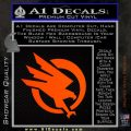 Command and Conquer GDI Decal Sticker Orange Emblem 120x120