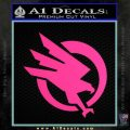 Command and Conquer GDI Decal Sticker Pink Hot Vinyl 120x120