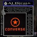 Converse Decal Sticker DF1 Orange Emblem 120x120
