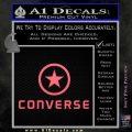 Converse Decal Sticker DF1 Pink Emblem 120x120