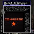 Converse Decal Sticker DW2 Orange Emblem 120x120