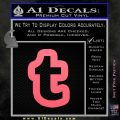 Customizable Tumblr T D1 Decal Sticker Pink Emblem 120x120