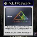 Cyberdyne Systems Jurassic Park Decal Sticker Glitter Sparkle 120x120