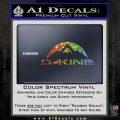 DaKine Decal Sticker Mountain Glitter Sparkle 120x120