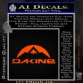 DaKine Decal Sticker Mountain Orange Emblem 120x120