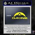 DaKine Decal Sticker Mountain Yellow Laptop 120x120