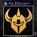 Darkstar Skate Decal Sticker Helmet Gold Vinyl 120x120