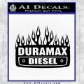 Duramax Diesel Decal Sticker GMC Black Vinyl 120x120