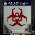 Futuristic Biohazard Decal Sticker D2 DRD Vinyl 120x120
