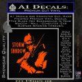 GI Joe Retaliation Storm Shadow Ninja Decal Sticker Orange Emblem 120x120