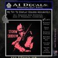 GI Joe Retaliation Storm Shadow Ninja Decal Sticker Pink Emblem 120x120
