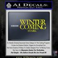 Game Of Thrones Decal Sticker Winter Is Coming Yellow Laptop 120x120