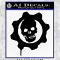 Gears of War Decal Sticker logo Black Vinyl 120x120
