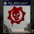 Gears of War Decal Sticker logo DRD Vinyl 120x120