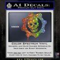 Gears of War Decal Sticker logo Glitter Sparkle 120x120