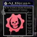 Gears of War Decal Sticker logo Pink Emblem 120x120
