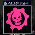 Gears of War Decal Sticker logo Pink Hot Vinyl 120x120