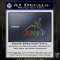 Gerber Knives Decal Sticker Full Glitter Sparkle 120x120
