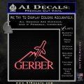 Gerber Knives Decal Sticker Full Pink Emblem 120x120