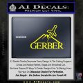 Gerber Knives Decal Sticker Full Yellow Laptop 120x120