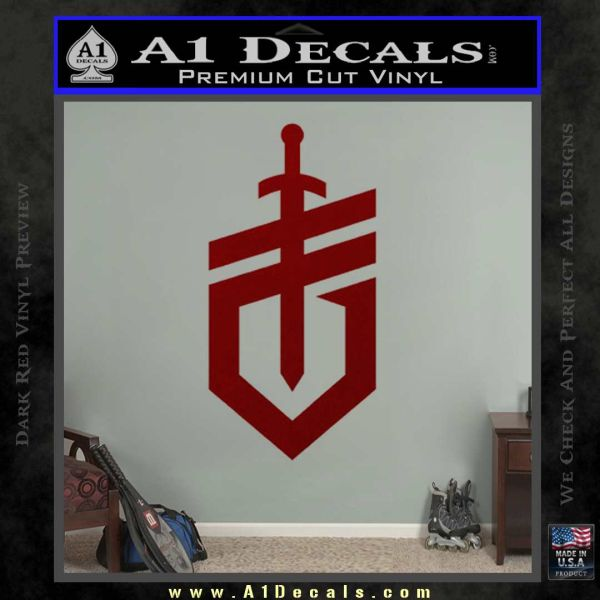Gerber Knives Decal Sticker New Shield DRD Vinyl