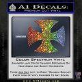 He Man Iron Cross Crest D1 Decal Sticker Spectrum Vinyl Black 120x120