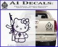 Hello Kitty Punish Decal Sticker 1 120x97