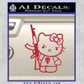 Hello Kitty Punish Decal Sticker 10 120x120