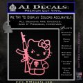 Hello Kitty Punish Decal Sticker 11 120x120