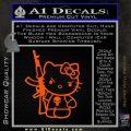 Hello Kitty Punish Decal Sticker 9 120x120