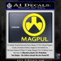 Magpul Firearms Decal Sticker Yellow Laptop 120x120