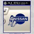 Nissan Sexy Decal Sticker D1 Blue Vinyl 120x120