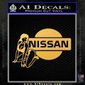 Nissan Sexy Decal Sticker D1 Gold Vinyl 120x120