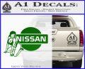 Nissan Sexy Decal Sticker D1 Green Vinyl Logo 120x97