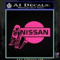 Nissan Sexy Decal Sticker D1 Pink Hot Vinyl 120x120
