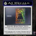 Obey Linux B Decal Sticker Glitter Sparkle 120x120