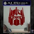 Optimus Prime Decal Sticker Transformers DRD Vinyl 120x120