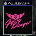 Pacific Rim Gipsy Danger Decal Sticker Pink Hot Vinyl 120x120