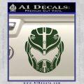 Pacific Rim Helmet Pilot Decal Sticker Dark Green Vinyl 120x120