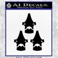 Pacific Rim Kaiju Kill Count Decal Sticker Black Vinyl 120x120