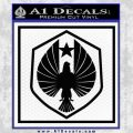 Pacific Rim Pan Pacific Defense Corps Decal Sticker Black Vinyl 120x120