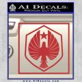 Pacific Rim Pan Pacific Defense Corps Decal Sticker Red 120x120