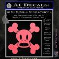 Paul Frank Skurvy Skull Decal Sticker Pink Emblem 120x120